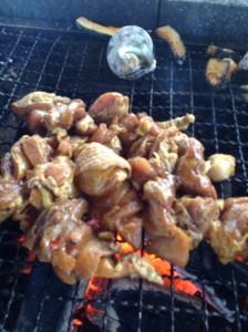 阿波尾鶏のジャークチキン